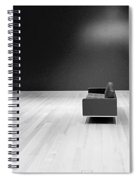 The Red Room Redux Spiral Notebook