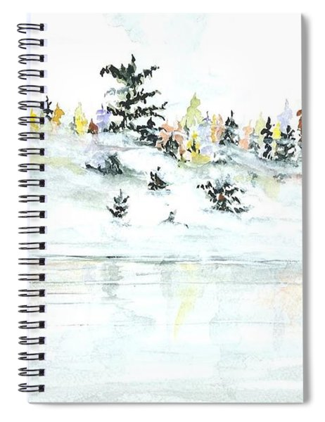 The Reflection Lake Spiral Notebook