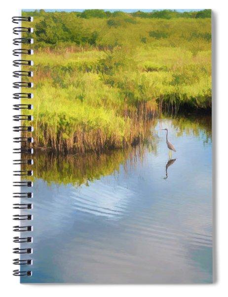 The Refuge Spiral Notebook