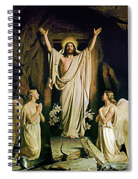 The Resurrection Spiral Notebook