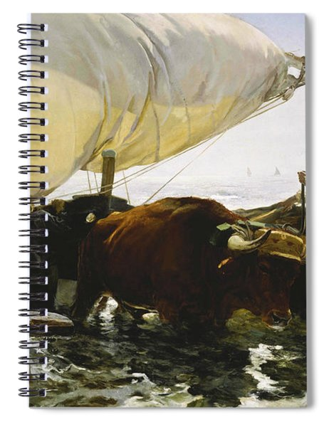 The Return From Fishing Spiral Notebook