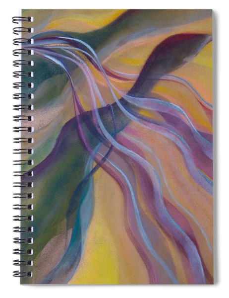 The Rhythm Of Flight Spiral Notebook