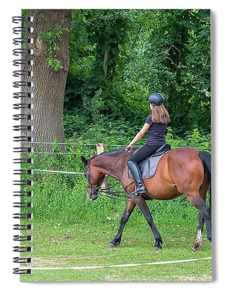 The Riding School In Suburb Spiral Notebook