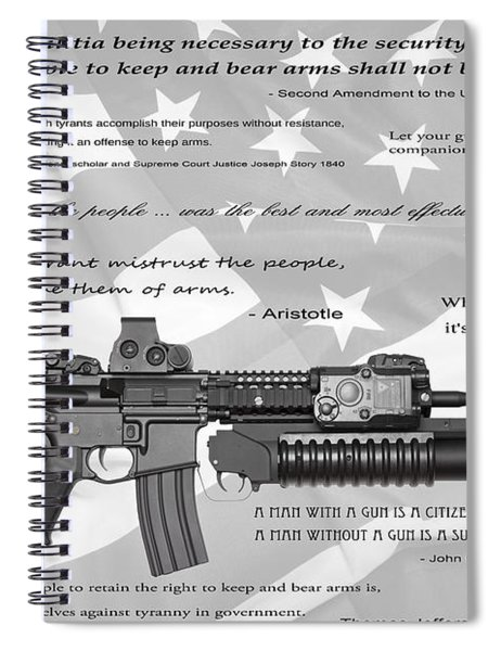 The Right To Bear Arms Spiral Notebook