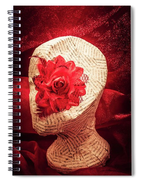 The Rise And Fall Spiral Notebook