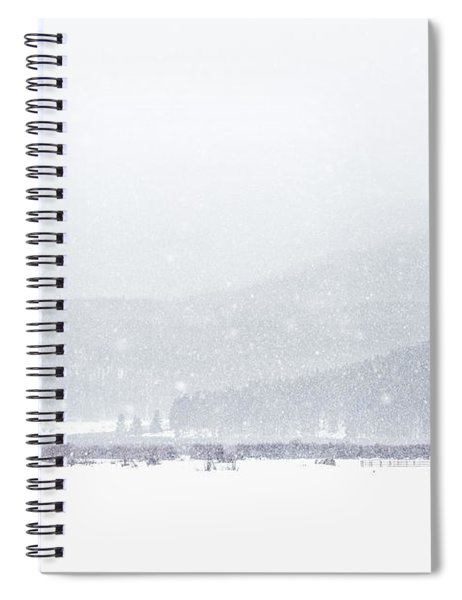 The Rise Of Winter Spiral Notebook
