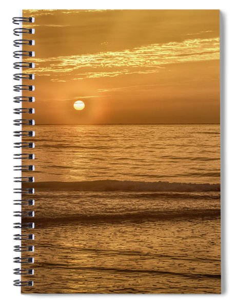 The Rising Of The Sun Spiral Notebook