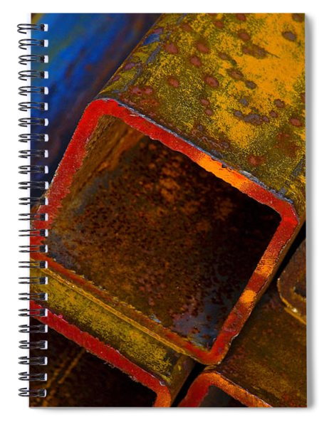 Spiral Notebook featuring the photograph The River by Skip Hunt
