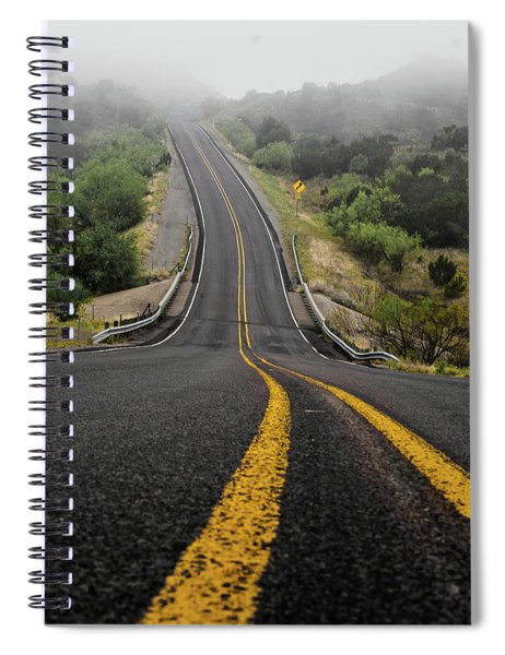 The Road Goes On Forever And The Party Never Ends Spiral Notebook