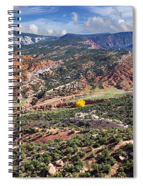 The Road To Blue Mountain Spiral Notebook