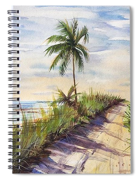 The Road To Happiness  Spiral Notebook