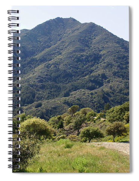 The Road To Tamalpais Spiral Notebook