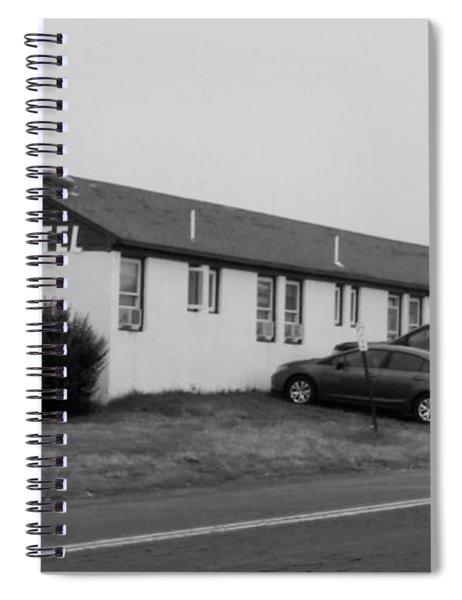The Rolling Stones' Memory Motel Montauk New York Spiral Notebook