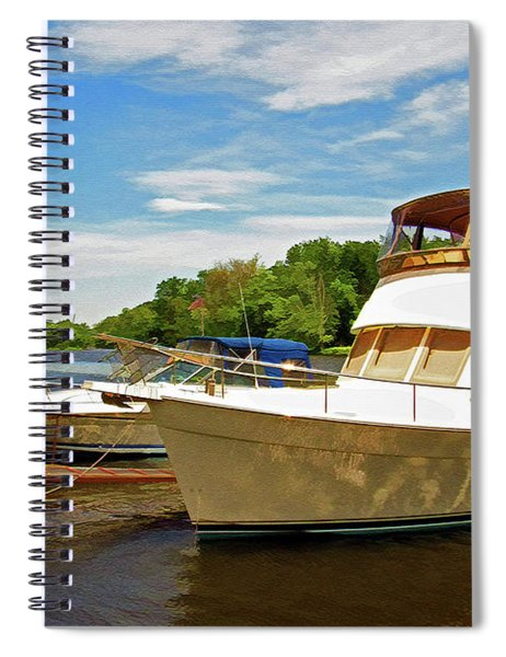 The Rondout At Eddyville Spiral Notebook