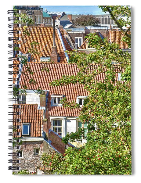 The Rooftops Of Leiden Spiral Notebook