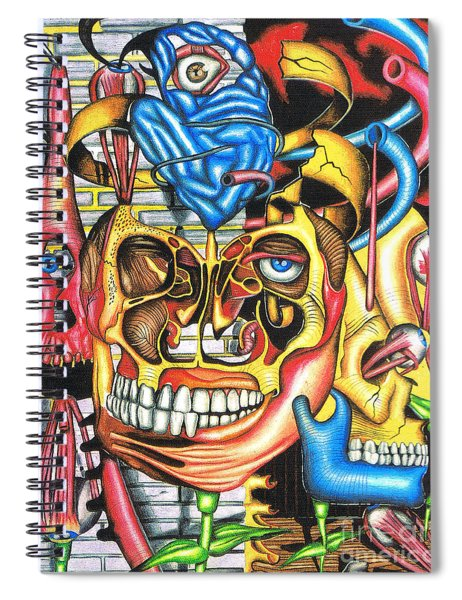 The Roots Of Human Evolution Spiral Notebook