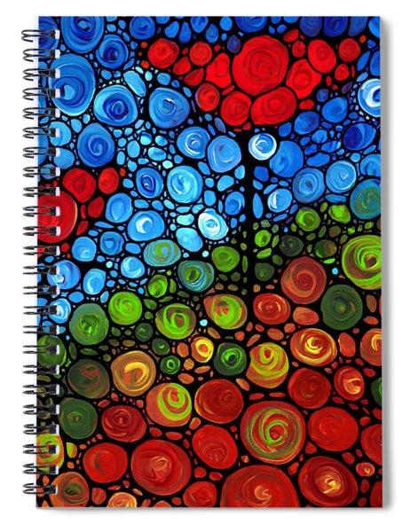The Roots Of Love Run Deep Spiral Notebook