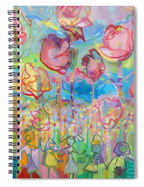 The Rose Garden, Love Wins Spiral Notebook