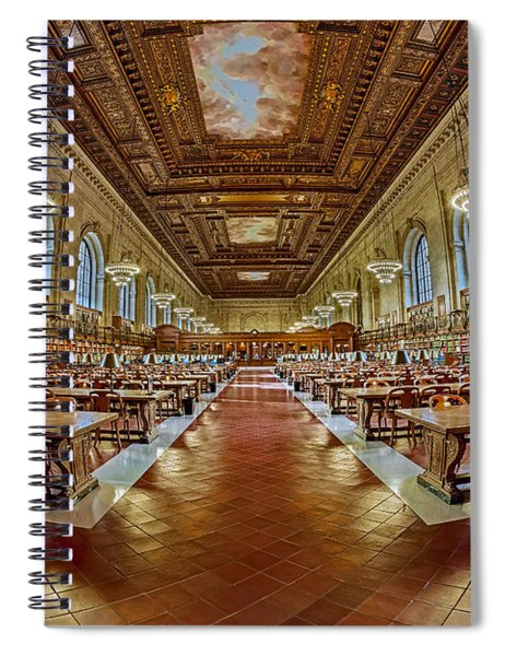 The Rose Main Reading Room Nypl Spiral Notebook