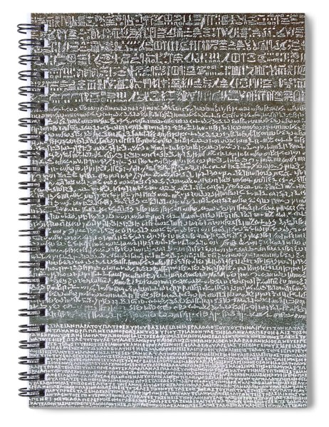 The Rosetta Stone Spiral Notebook