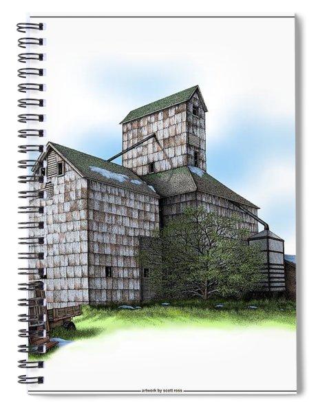 The Ross Elevator Spring Spiral Notebook