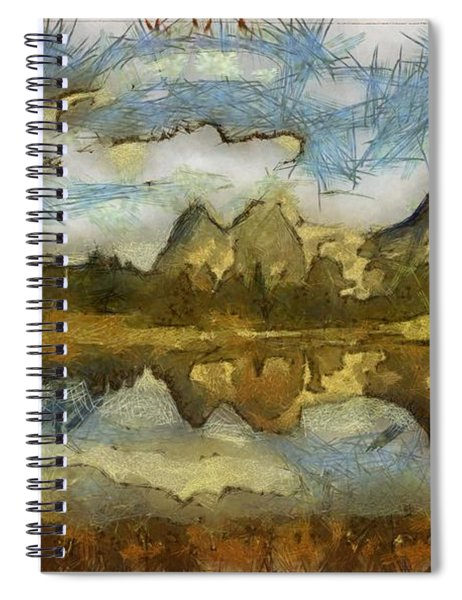 The Roughness Of Natural Beauty Spiral Notebook