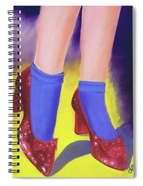 The Ruby Slippers Spiral Notebook