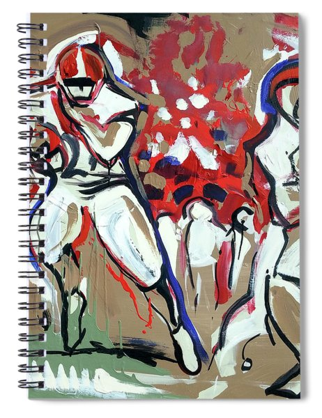 The Run Spiral Notebook