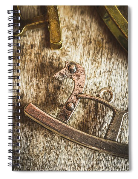 The Rusted Toy Horse Spiral Notebook