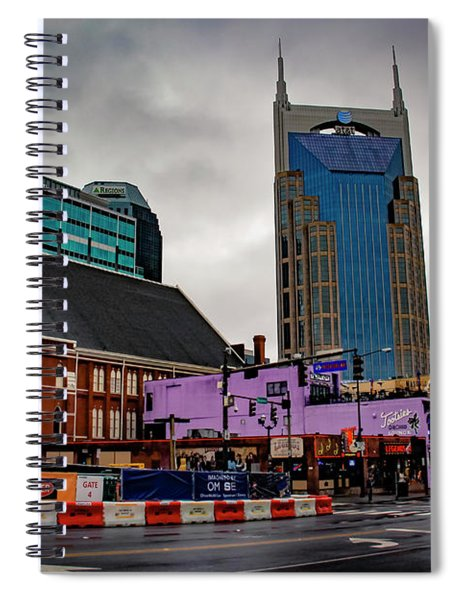 The Ryman And Broadway Spiral Notebook