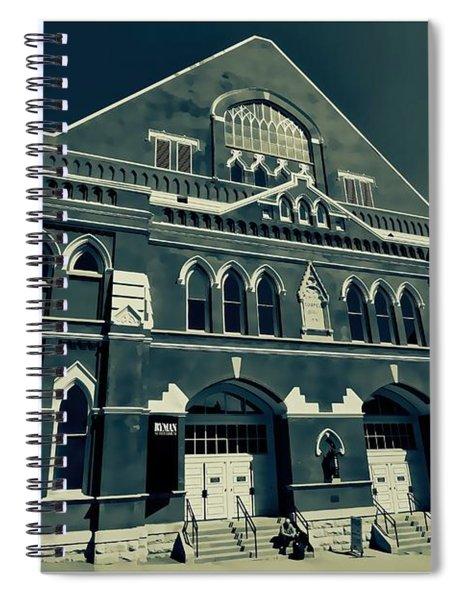 The Ryman Auditorium  Spiral Notebook