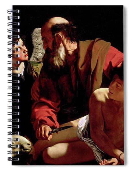 The Sacrifice Of Isaac Spiral Notebook