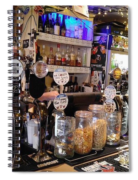 The Salt House Bar Spiral Notebook