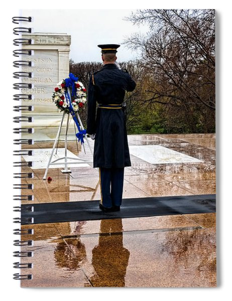 The Salute Spiral Notebook