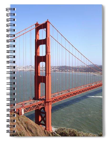 The San Francisco Golden Gate Bridge 7d14507 Spiral Notebook