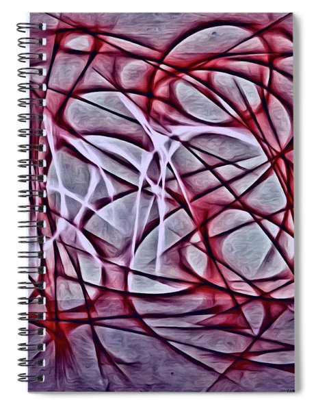 The Saving Angel's  Spiral Notebook