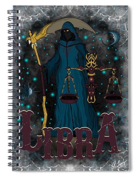 The Scale Libra Spirit Spiral Notebook