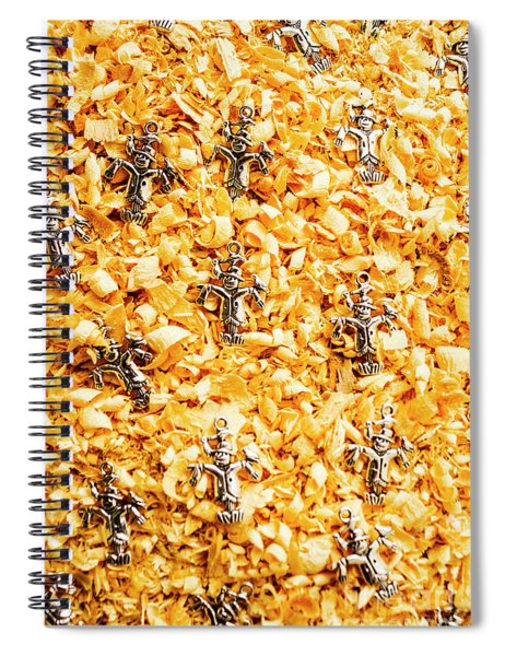 The Scarecrow Strawmen Spiral Notebook
