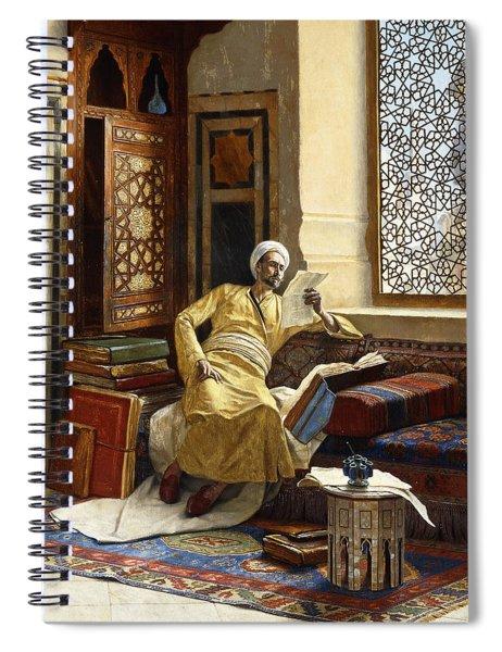 The Scholar Spiral Notebook