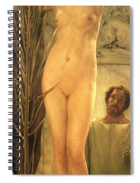 The Sculptor's Model Spiral Notebook