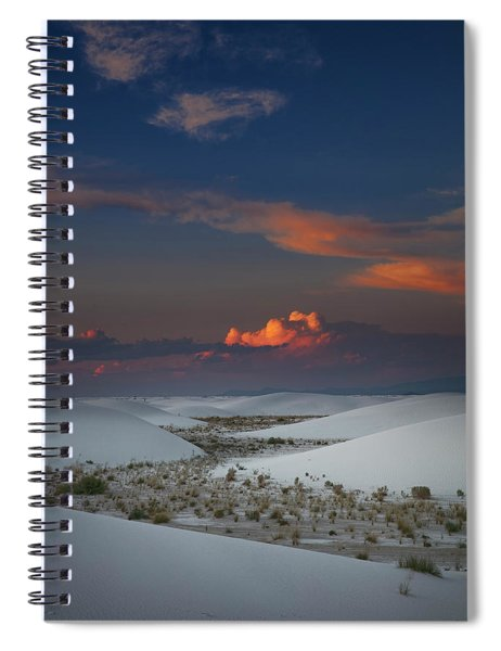The Sea Of Sands Spiral Notebook
