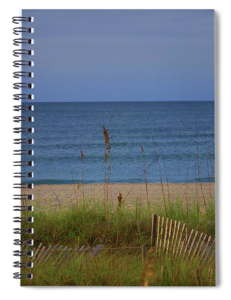 The Sea Shore Line Spiral Notebook