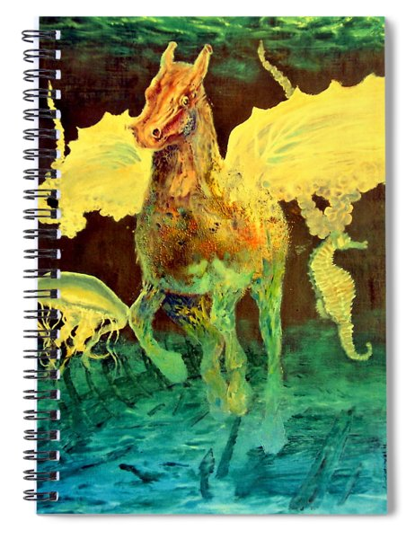 The Seahorse Spiral Notebook