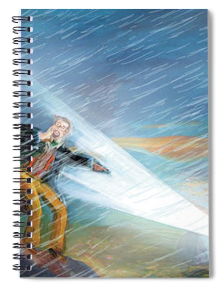 The Search Spiral Notebook