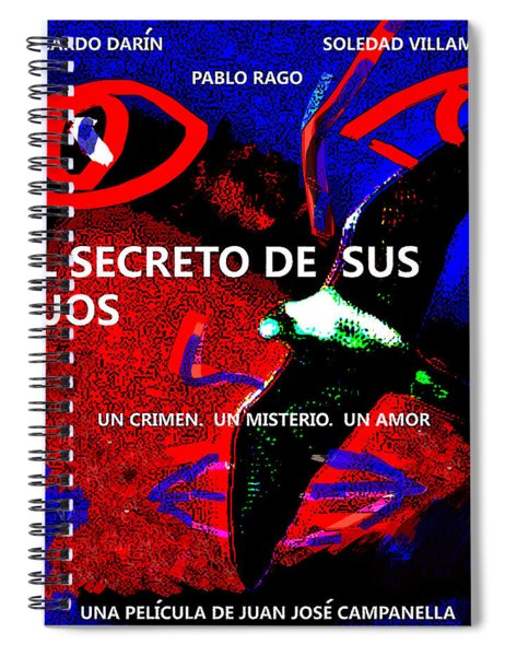 The Secret In Their Eyes Spiral Notebook