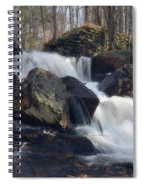 The Secret Waterfall 1 Spiral Notebook