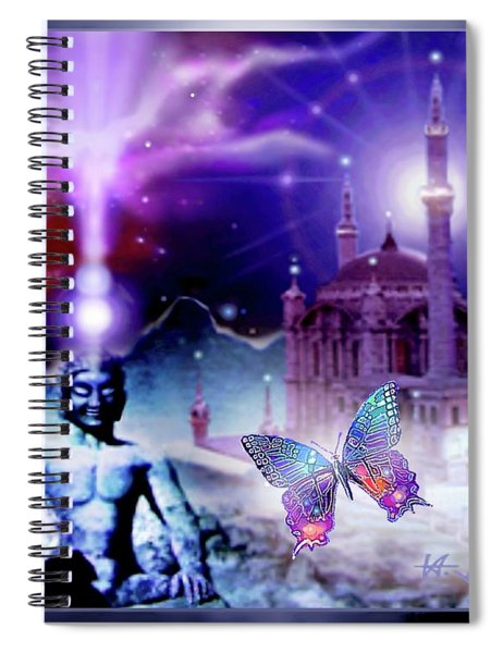 The Serenity Of Wisdom... Spiral Notebook