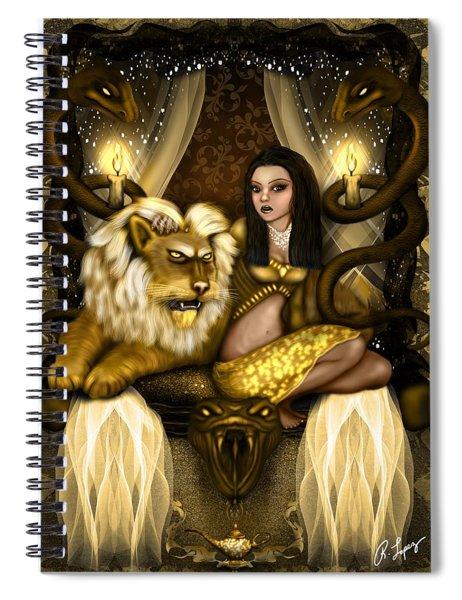 The Serpent Gateway Fantasy Art Spiral Notebook