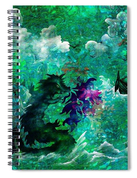 The Serpent Spiral Notebook