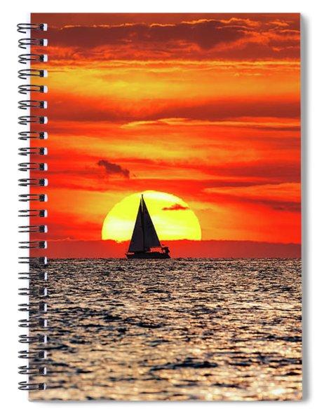 Where Fire Meets Water Spiral Notebook